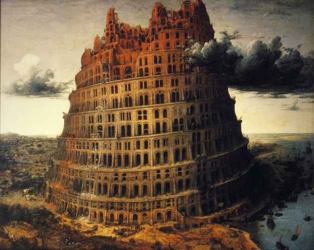 brueghel tower of babel