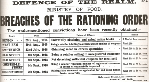 Crimes against Rationing